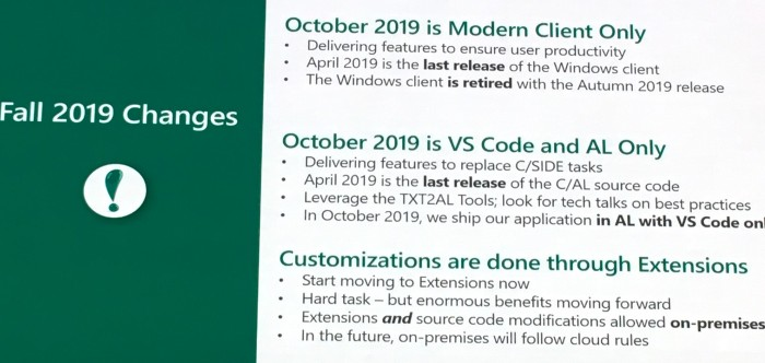 Best Vscode Extensions 2020 Business Central – Spring & Fall '19 Release   Microsoft Dynamics